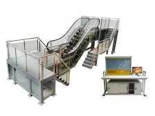 TYZDFT-2型自动扶梯实训设备