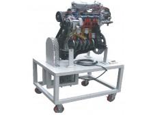 TY-QC719汽油电控发动机解剖动态演示台(4缸)