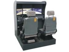 TYM-9型真车感受的汽车驾驶模拟器(三屏)