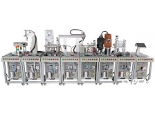 TYRX-J1机器人柔性自动化生产线实训系统(八站)