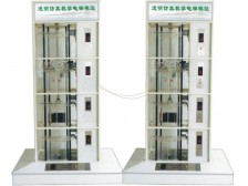TY-702型四层透明仿真教学双联电梯模型