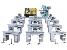 TY-2100型多媒体网络型机电一体化数控编程实验室设备