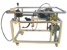 TY-QC315型手动变速器解剖运行实训台(前驱动式)